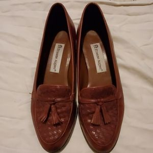 Etienne Aigner brown loafers size 7